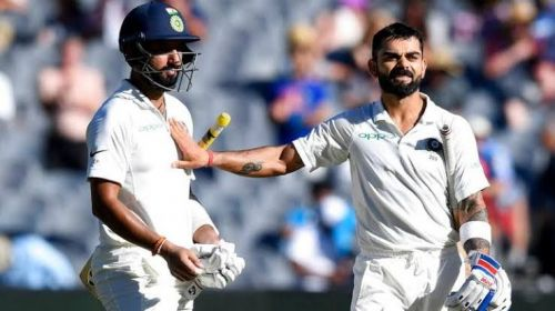 Kohli and Pujara have been the spearheads