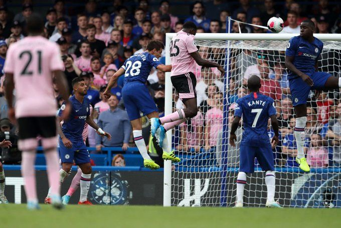 Chelsea drew 1-1 with Leicester City in the Premier League