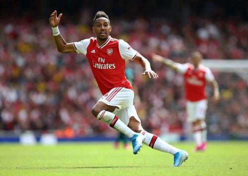 The movement and anticipation of Aubameyang will be crucial to bypass the Liverpool backline