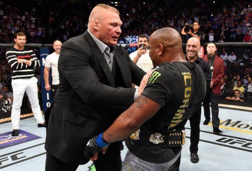 UFC 226 के दौरान भिड़े थे ब्रॉक लैसनर और स्टीपे मिओचिच