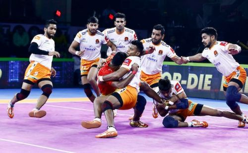 Pune's defenders were in fine form