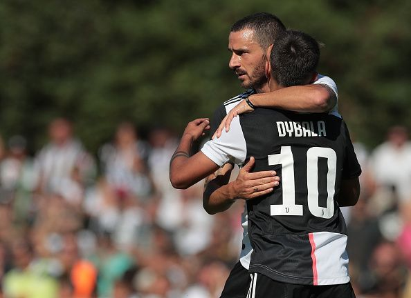 Dybala scored a beautiful chip in the Coppa Italia, but may not make the starting XI against Parma