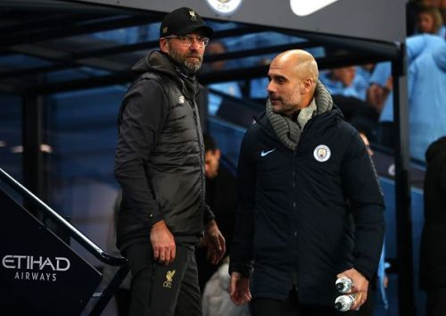 Jurgen Klopp and Pep Guardiola are two of the greatest managers the English game has seen.