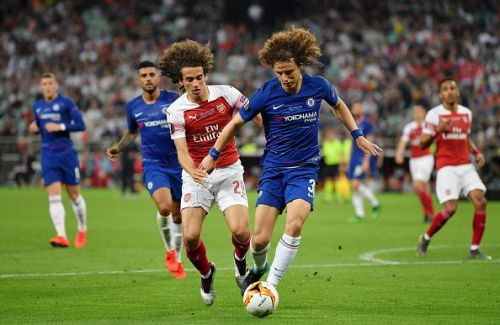 Luiz is wanted by Arsenal
