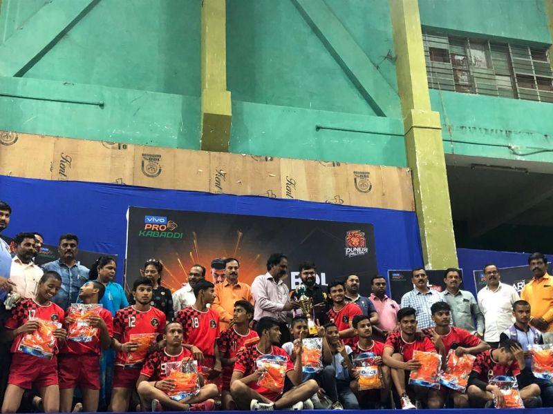 Shivshakti Kridamandal won the Bol Kabaddi tournament held in Nashik