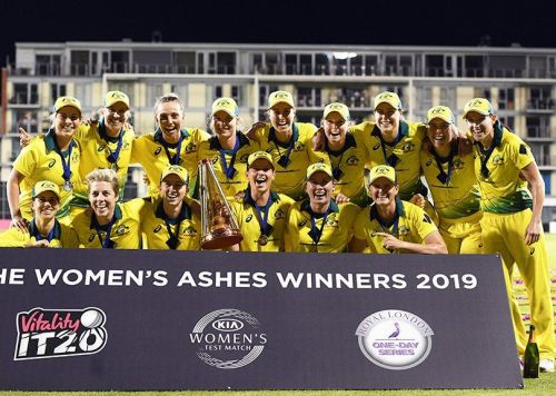 ऑस्ट्रेलिया महिला टीम  - एशेज विजेता