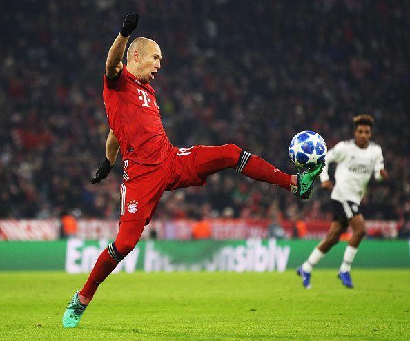 Arjen Robben in action