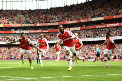 The Gunners are at the 2nd spot on the league table