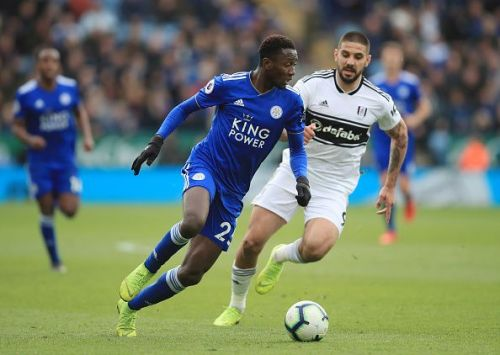 Leicester City have the services of the league's premier holding midfielder Wilfred Ndidi
