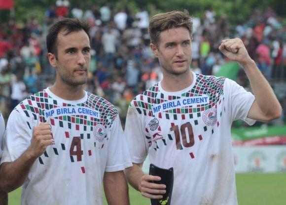 Joseba Beitia (right) has been phenomenal for Mohun Bagan this season