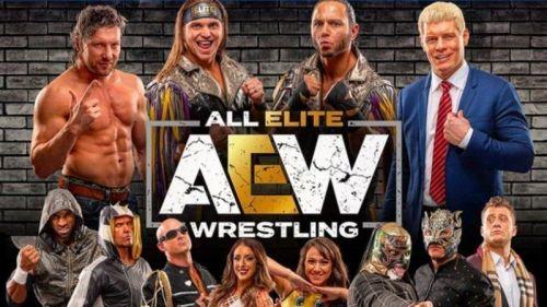 All Elite Wrestling stars
