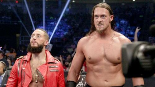 Enzo Amore and Big Cass.