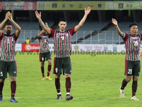 Mohun Bagan are almost through to the semi-final of the Durand Cup