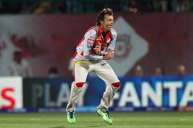 Adam Gilchrist is the surprise entry in the coveted list