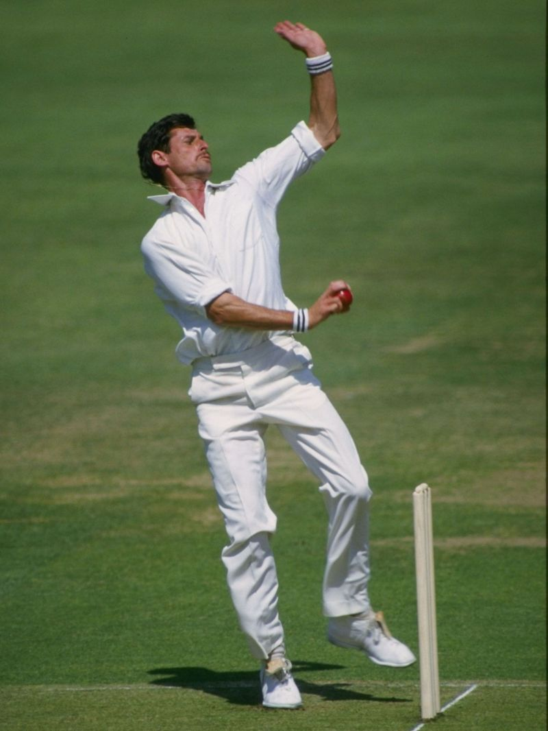 Hadlee caught Malcolm LBW to strike on the ultimate delivery of his career. (pc- google)