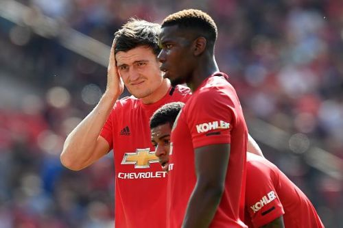 Manchester United dropped four points in their last two games.