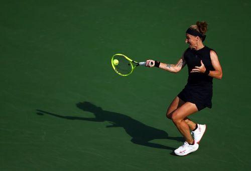 Svetlana Kuznetsova has taken out some big names in Cincinnati this week.