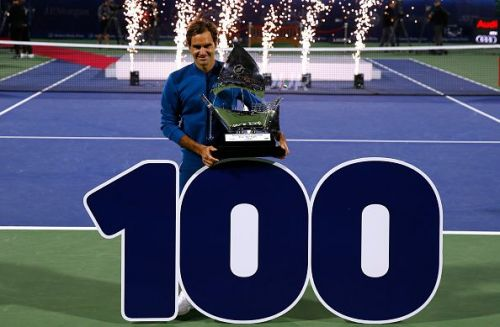 Federer beats Tsitsipas in the 2019 Dubai final for his 100th singles title
