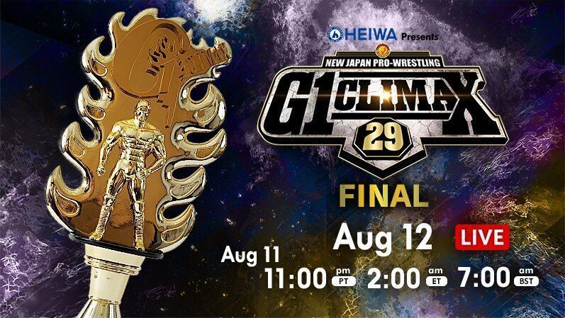 NJPW G1 Climax Final: Kota Ibushi & Jay White Results, Review