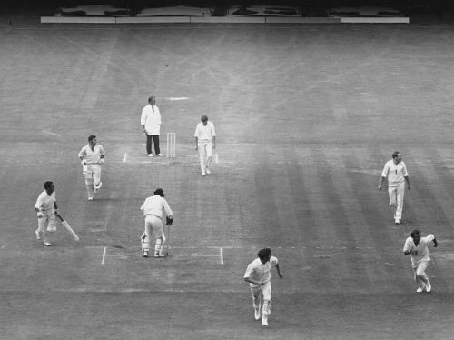 After the winning runs were hit by Abid Ali