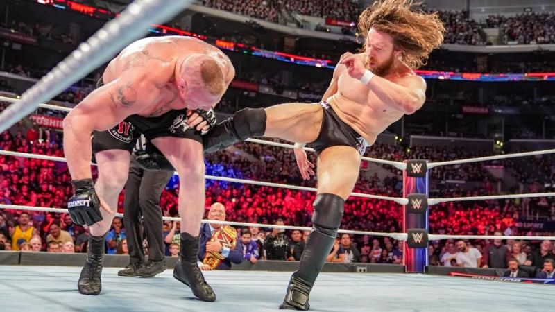 Daniel Bryan and Brock Lesnar had a very good match at Survivor Series 2018