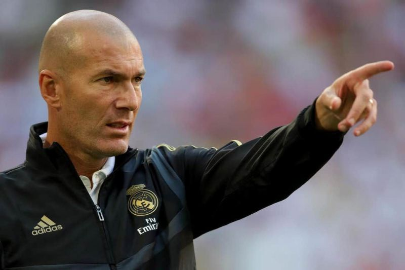 Zinedine Zidane has a few injury concerns to deal with before his side