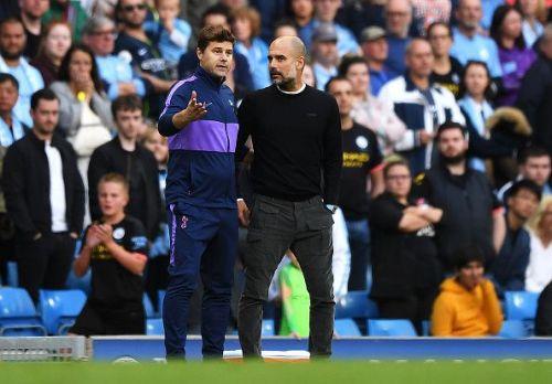 Pochettino and Guardiola debate VAR