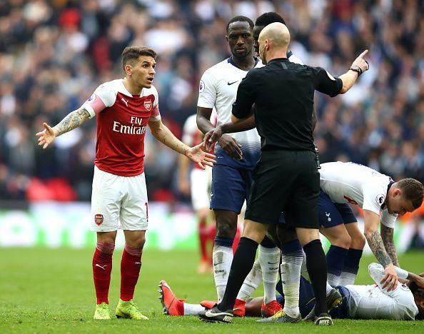 Arsenal vs Tottenham has always been a feisty derby.