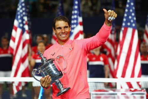 2017 US Open Tennis Championships -Rafael Nadal's last Major title outside of the French Open