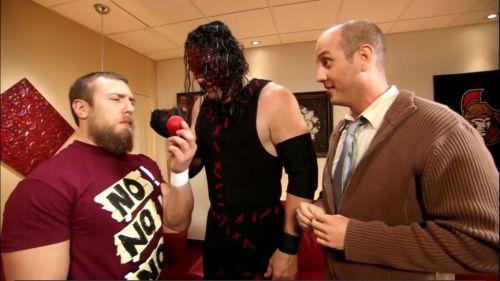 Kane cracks up