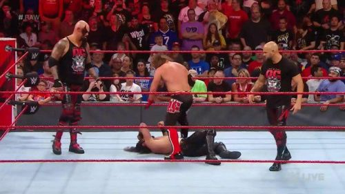 The Universal Champion was in a bad way until a certain Monster made the save