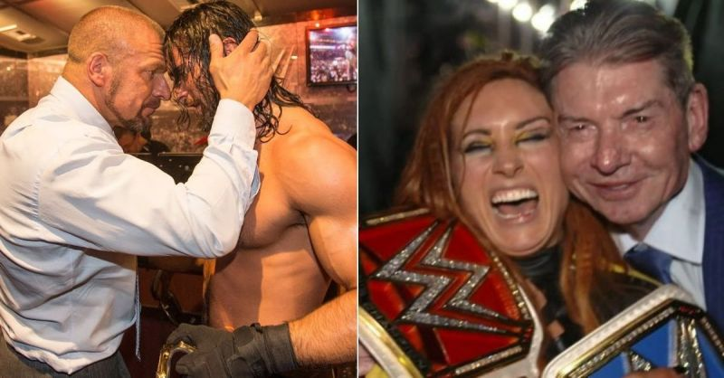 Seth Rollins and Becky Lynch are two of the top stars in WWE