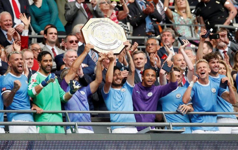 Manchester City have already started their title spree with the Community Shield!