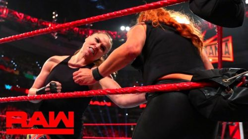 Ronda turned heel earlier this year by demolishing Becky Lynch on the March 4th edition of RAW.
