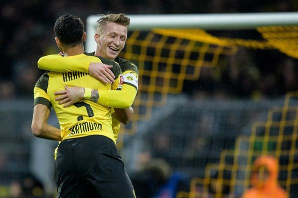 It was a game that Dortmund may have dropped points in last season