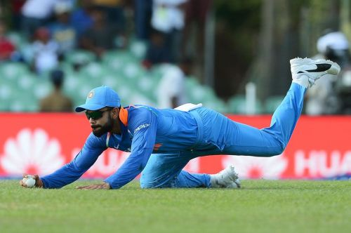 Virat Kohli is one of India's best fielder