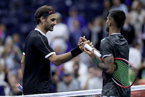 Federer beat Nagal in the first round of the 2019 US Open