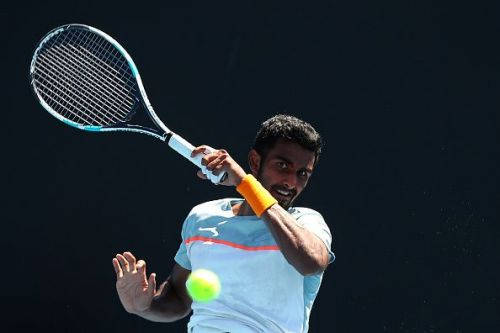 Top-ranked Indian men's singles player Prajnesh Gunneswaran will also look to make his presence felt.