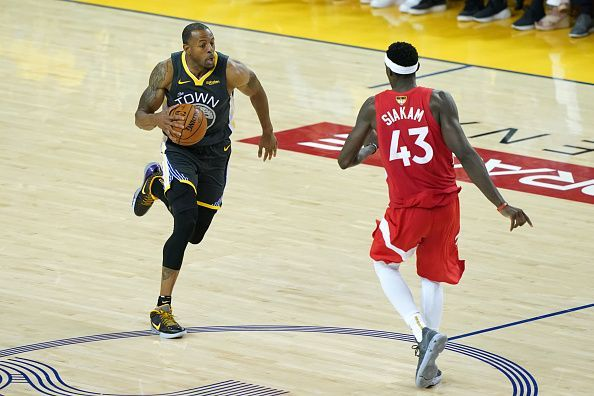 Andre Iguodala was impressive as Golden State reached the NBA Finals