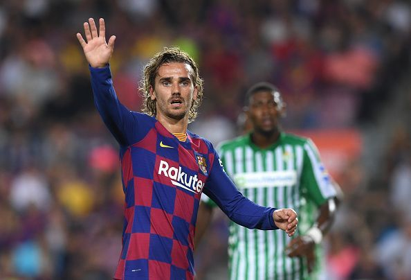 Griezmann enjoyed a much better showing in the final third against Betis on this occasion