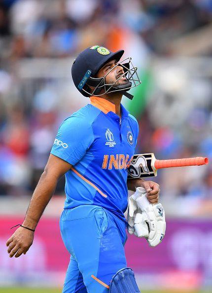 Rishabh Pant - a shot too many