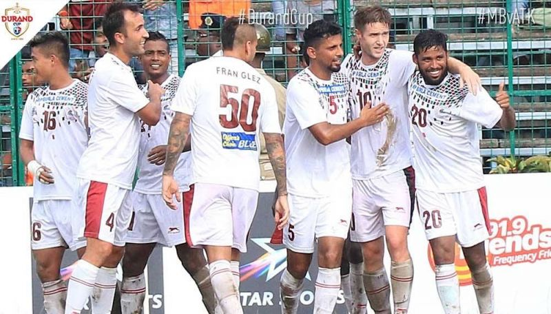 Mohun Bagan will face Real Kashmir in the semi-final of Durand Cup (Image Courtesy: durandcup.in)