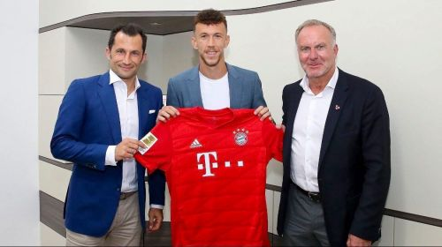 Ivan Perisic has joined Bayern Munich one an initial one-year loan deal