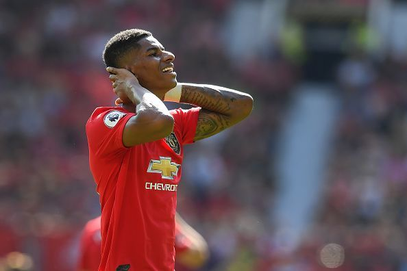 It was another disappointing weekend for Marcus Rashford and Manchester United.
