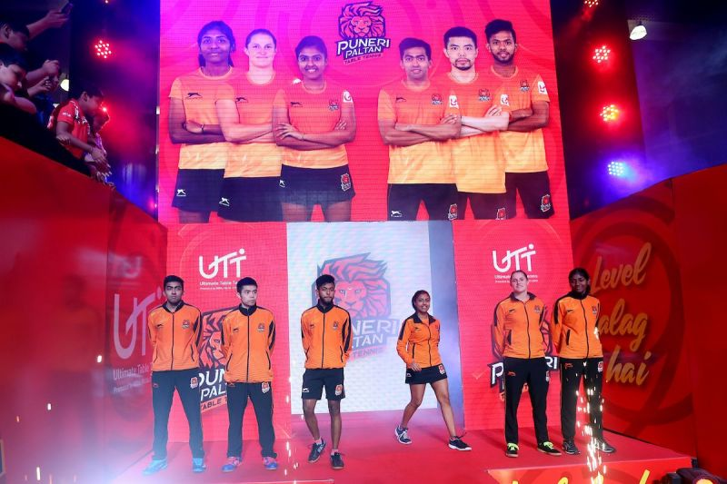 The Paltan arriving for the clash.