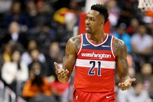 Dwight Howard spent last season with the Washington Wizards