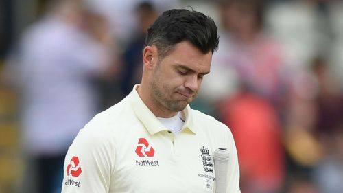 England paceman James Anderson