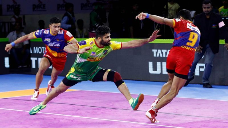 Pardeep Narwal was in sublime form against U.P. Yoddha in Patna Pirates
