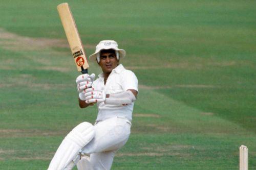 Sunil Gavaskar was the first Indian batsman to breach the 10000 run mark.