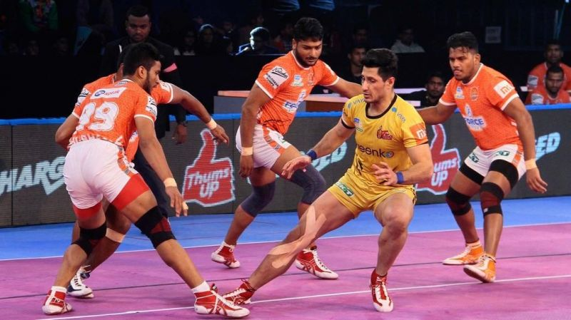 Telugu Titans will try to maintain their winning streak against Puneri Paltan
